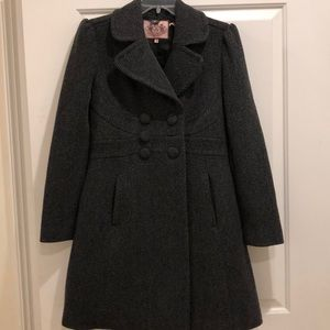 Juicy couture Wool Trench Overcoat
